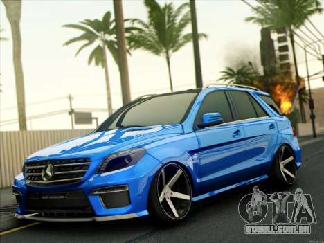 Mercedes-Benz ML63 AMG para GTA San Andreas