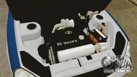 VAZ-2170 Lada Priora DPS para GTA 4 vista de volta