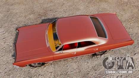 Chevrolet Impala 1967 para GTA 4 vista direita