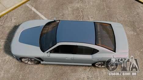 GTA V Bravado Buffalo Supercharged para GTA 4 vista direita