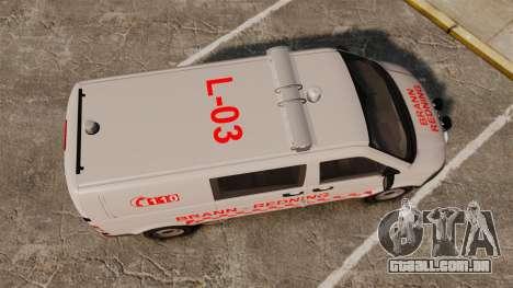 Volkswagen Transporter T5 2010 [ELS] para GTA 4 vista direita