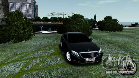 Mercedes-Benz S-Class W222 2014 para GTA 4 interior