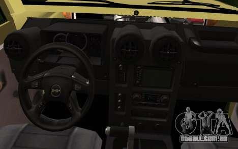 Toyota Land Cruiser Machito 2013 6Puertas 4x4 para GTA San Andreas vista direita