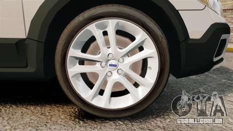 Volvo XC70 Unmarked [ELS] para GTA 4 vista de volta