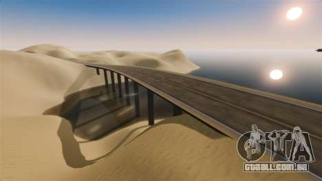 Localização do deserto Highway para GTA 4 quinto tela