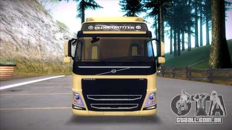 Volvo FM 2013 para GTA San Andreas vista traseira
