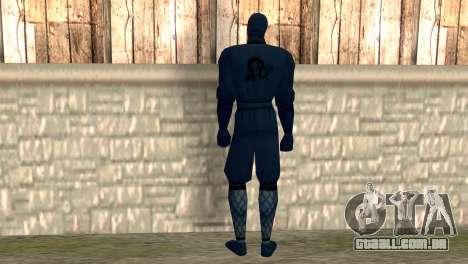 Ninja para GTA San Andreas segunda tela