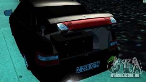 VAZ 2110 Cazaquistão para GTA San Andreas traseira esquerda vista