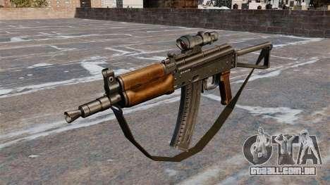 AKS74U automático para GTA 4