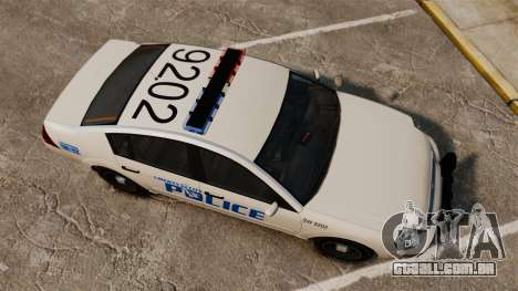 Pinnacle Police LCPD [ELS] para GTA 4 vista direita