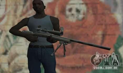 M24 para GTA San Andreas terceira tela