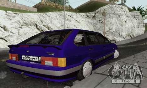 Ba3 2114 para GTA San Andreas vista traseira