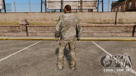 Roupa de camuflagem urbana para GTA 4 segundo screenshot