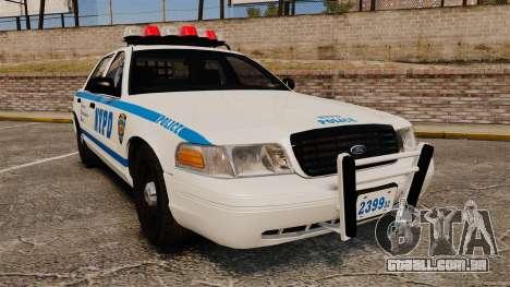 Ford Crown Victoria 1999 NYPD para GTA 4