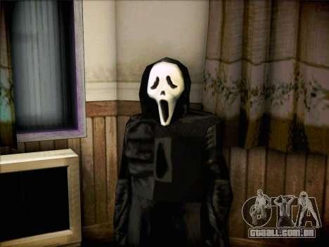 Maníaco do filme Scream para GTA San Andreas