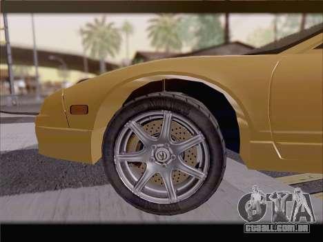 Acura NSX para o motor de GTA San Andreas