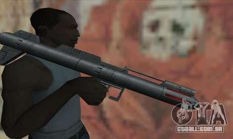 Lançador de míssil de Star Wars para GTA San Andreas terceira tela