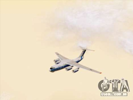Il-76td-90vd de Volga-Dnepr para vista lateral GTA San Andreas