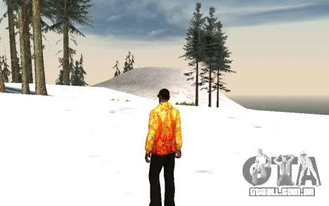Jaqueta Sochi 2014 para GTA San Andreas segunda tela