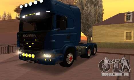 Scania Topline R730 V8 para GTA San Andreas