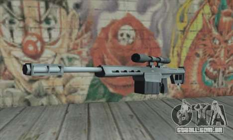 Rifle sniper do Saints Row 2 para GTA San Andreas