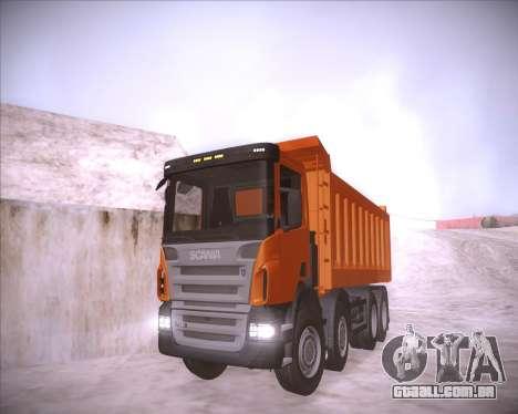 Scania P380 para GTA San Andreas