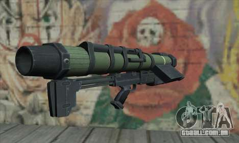 Lançador de mísseis para GTA San Andreas segunda tela