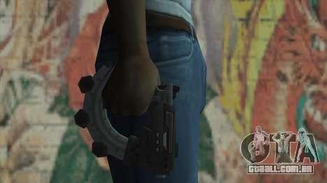 A arma do Timeshift para GTA San Andreas terceira tela