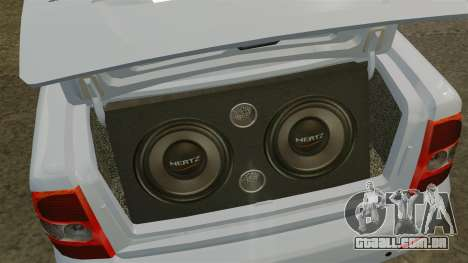 Lada Priora para GTA 4 vista lateral