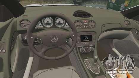 Mercedes-Benz SL65 AMG para GTA 4 vista interior