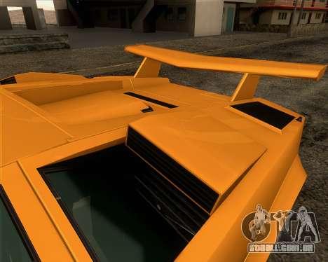 Lamborghini Countach LP500 Quattrovalvole 1988 para as rodas de GTA San Andreas