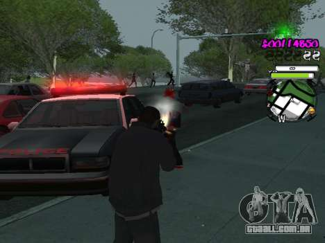 HUD para GTA San Andreas sexta tela