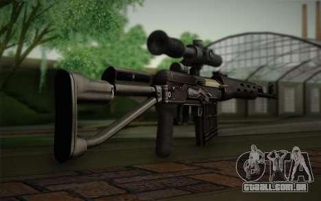 fuzil 7,62 Dragunov SVD-s para GTA San Andreas segunda tela