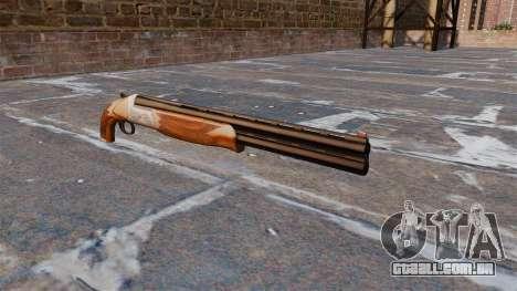 Espingarda de cano duplo para GTA 4