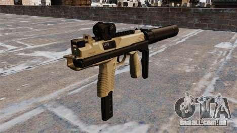 Pistola-metralhadora MP9 tática para GTA 4 segundo screenshot