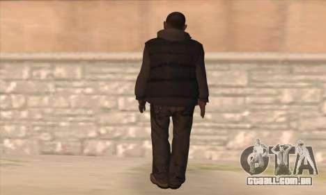 Clarence de GTA IV para GTA San Andreas segunda tela