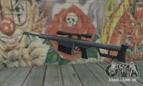 Rifle sniper do Saints Row 2 para GTA San Andreas segunda tela