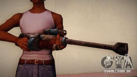 Rifle sniper de Bulletstorm para GTA San Andreas terceira tela