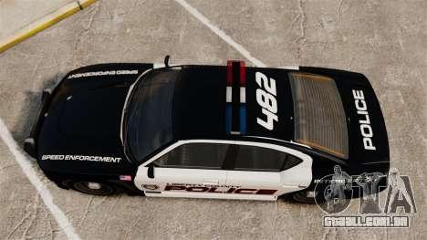 GTA V Bravado Buffalo Supercharged LCPD para GTA 4 vista direita