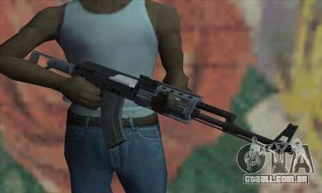 O AK47 de GTA V para GTA San Andreas terceira tela