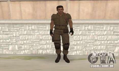 Chris Redfield v2 para GTA San Andreas
