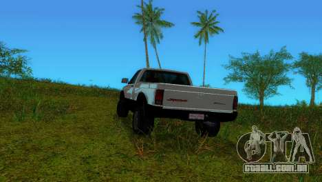 GMC Cyclone 1992 para GTA Vice City vista traseira