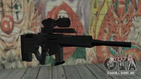 Rifle sniper de Resident Evil 4 para GTA San Andreas