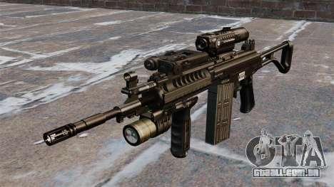 Espingarda automática Galil tático para GTA 4