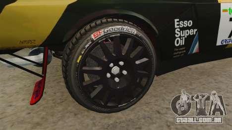 Lancia Delta S4 GroupB para GTA 4 vista de volta