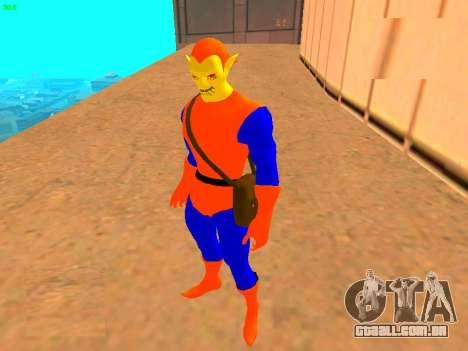 Duende das histórias em quadrinhos para GTA San Andreas segunda tela