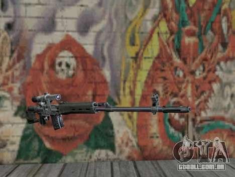 Rifle sniper de STALKER para GTA San Andreas