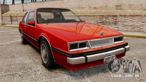 Willard Coupe para GTA 4