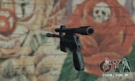 Blaster de Star Wars para GTA San Andreas segunda tela