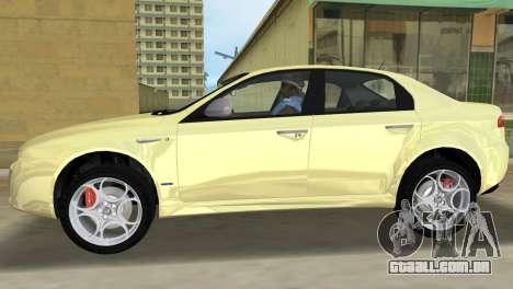 Alfa Romeo 159 ti para GTA Vice City deixou vista
